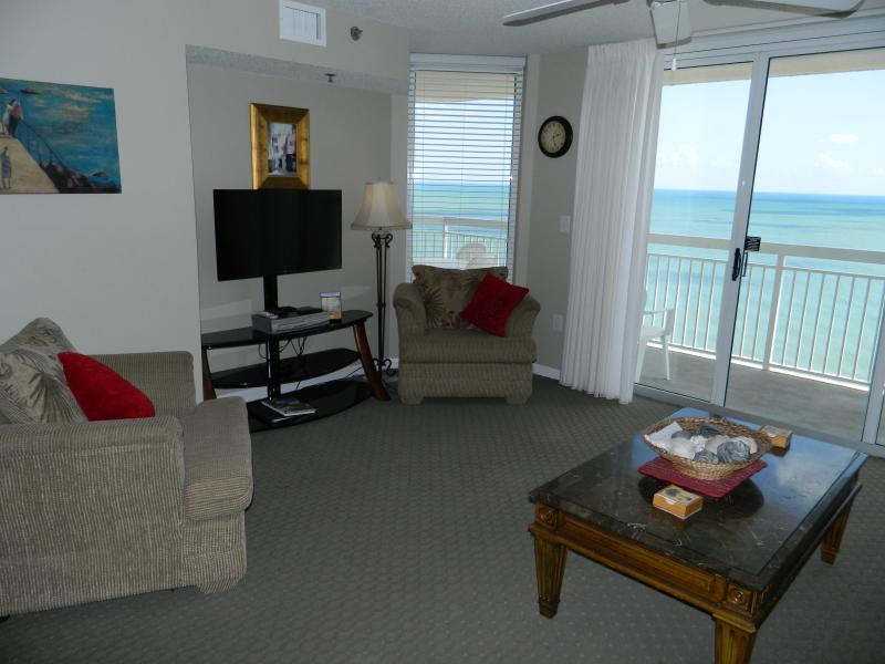 Beautiful view from livingroom! - Gorgeous 3 BR/3 BA Oceanfront-Just Reduced! - North Myrtle Beach - rentals