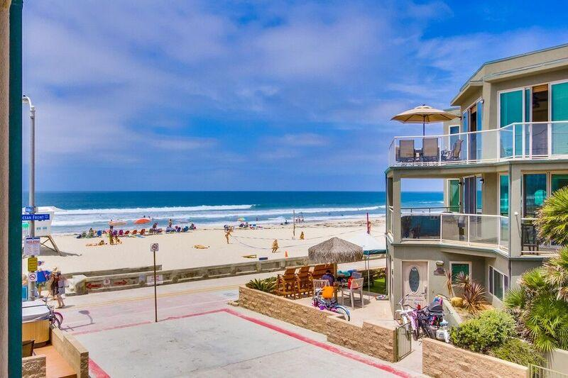 ***Ocean View 3br Townhome*** - Image 1 - Pacific Beach - rentals