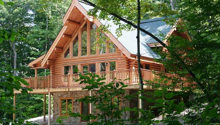 Enjoy 15-km of trails for walking, biking, cross-country skiing or snowshoeing - Mont Tremblant Blueberry Lake 5 bed 3 bath Labelle Chalet - Labelle - rentals