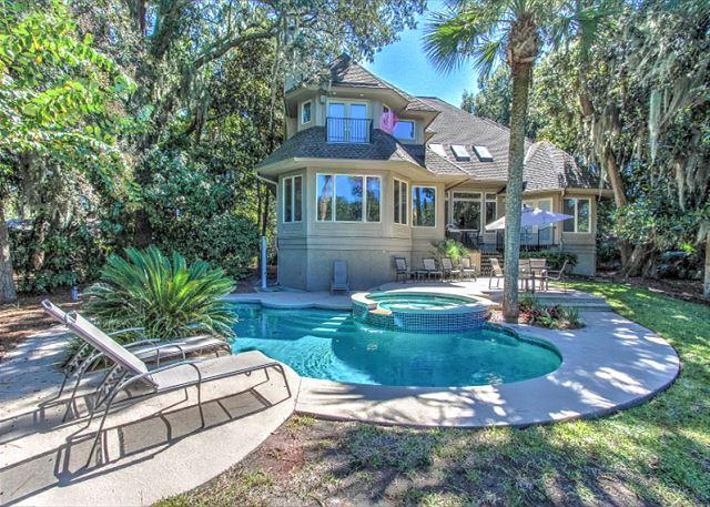 Beach Lagoon 4 - Beach Lagoon 4, 6 Bedroom, Private Pool, Sea Pines, Steps to Ocean, Sleeps 16 - Hilton Head - rentals