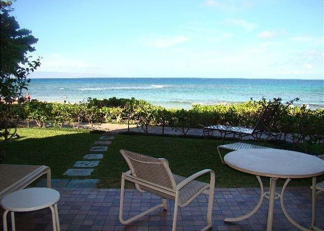 Ocean Front Condo Just Steps From the Sand - Image 1 - Lahaina - rentals