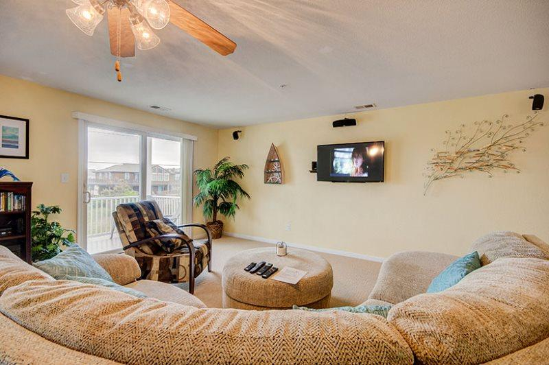 Silver Lining *Fourth row with peeks of the ocean and direct beach access!* - Image 1 - Virginia Beach - rentals