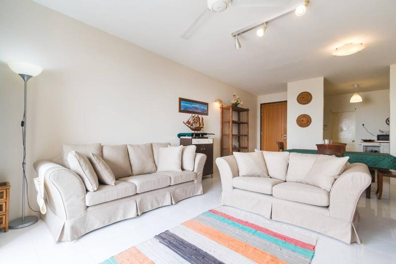 Cozy living room - Apr 20% Off! Fully Renovated Seaview Designer Condo By Beach - Batu Ferringhi - rentals