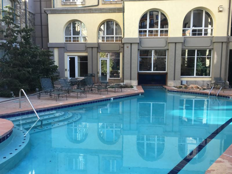 Pool is nicely heated year round - Top Conde Nast Fairmont Franz Klammer Pool - Telluride - rentals
