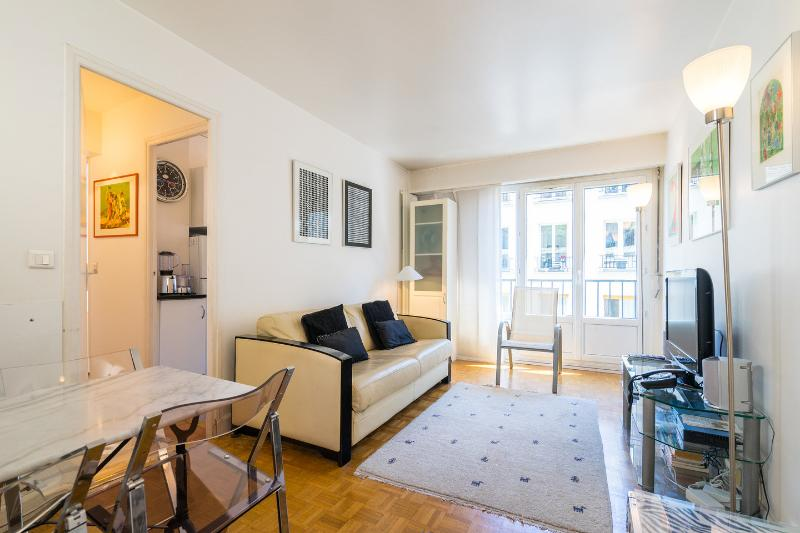 Living Room - 1 Bedroom Flat in Montmartre, Paris - Paris - rentals