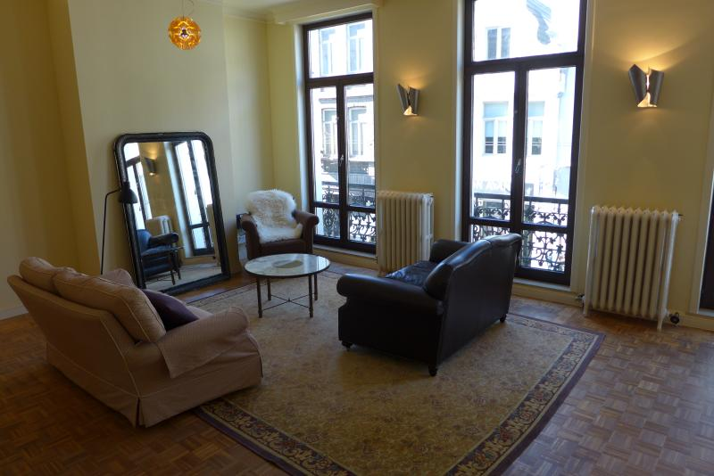 the brand new living room street side - belgium citytrip ghent cosy home for 6 people - Ghent - rentals