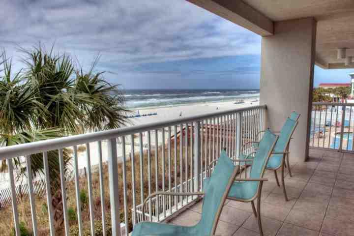 Beautiful Views from our spacious balcony. - 202 Majestic Beach Tower I - Panama City Beach - rentals