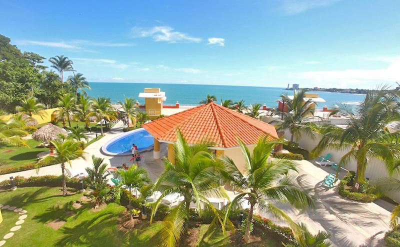 Playa Serena social area, bahia and the ocean beyond - 19th Floor Oceanfront Condo-Sleeps 2 - 6 W/ Views - Gorgona - rentals