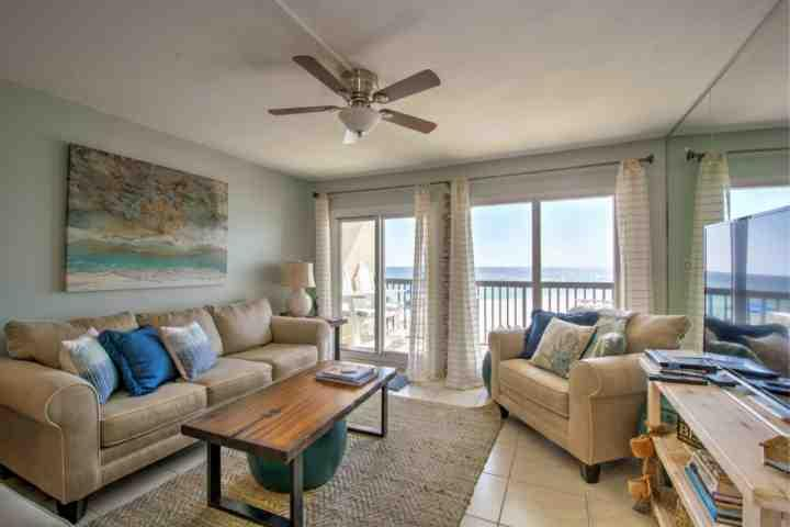 Pinnacle Port C3-201 is recently remodeled, ensuring all your guests stay in comfort and luxury! - Newly Remodeled - C3-201 End Unit! 2BR/2BA Gulf Views!!! - Panama City Beach - rentals