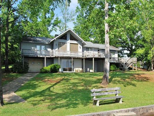 Riverbend is a Terrific Lake Front Home - Riverbend - Alexander City - rentals