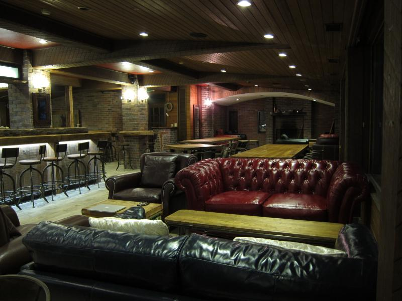 Beautiful bar within the lodge. - Hakuba Iwatake Lodge - Ski in, Ski out Lodge. - Hakuba-mura - rentals