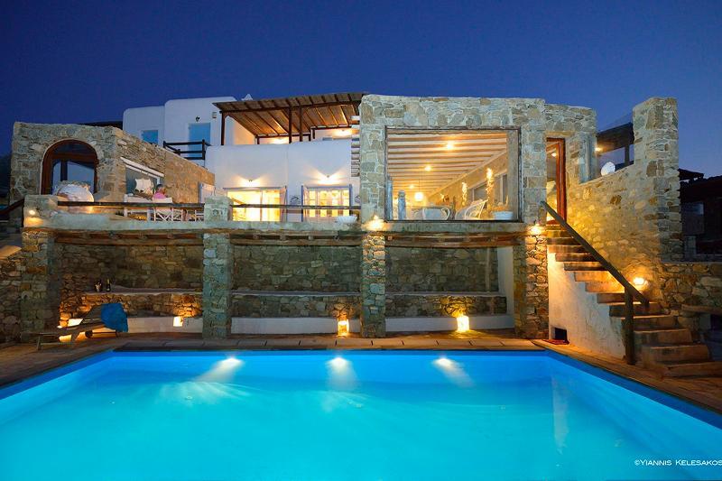 Villa Alekos - Image 1 - Ornos - rentals