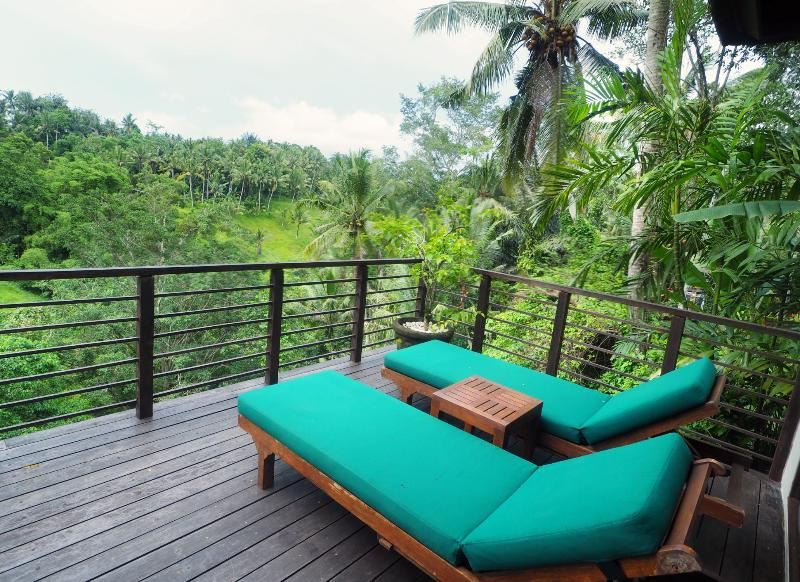 The view from Villa Samaki Ubud so relaxing and very close to Ubud center - Villa Samaki Peaceful and romantic 3 bedrooms villa - Ubud - rentals