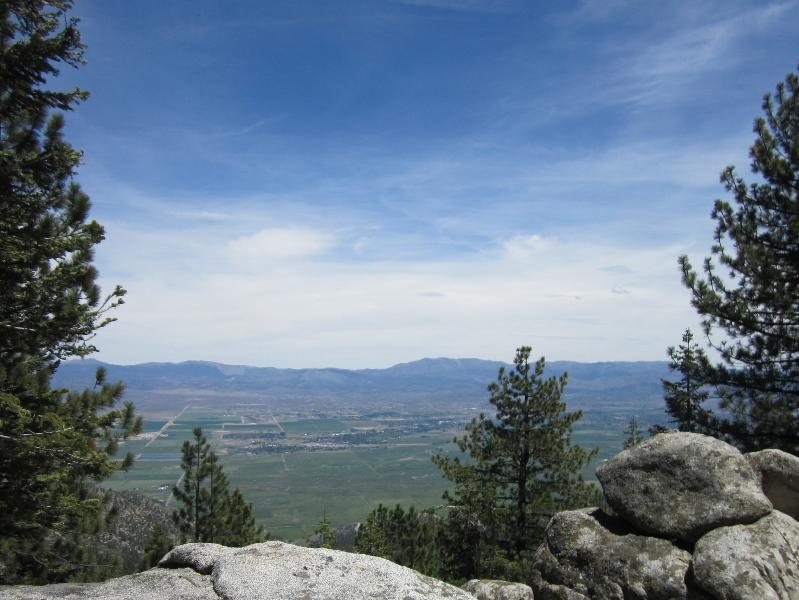 View from Downstairs Deck - Breathtaking Views! Stagecoach and Boulder Ski - Stateline - rentals
