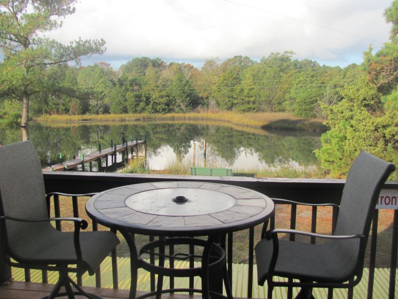 Morning Coffee Break - Secluded Waterfront Paradise - Hacksneck - rentals