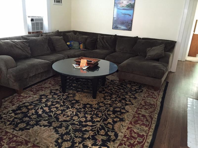 living room in downstairs unit - Duplex Mission Beach steps from the ocean - San Diego - rentals