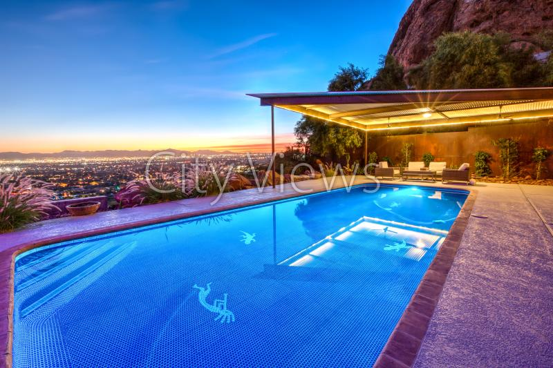Amazing Views, City Lights Best Location on Camelback! Close to Old Town, Luxury - Image 1 - Scottsdale - rentals