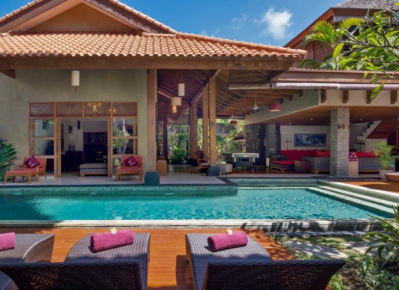 Kinaree Luxury 3 Bedroom Villa by the Beach, Seminyak - Image 1 - Seminyak - rentals