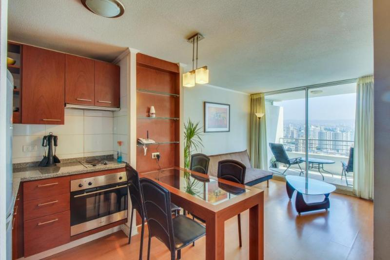Cozy waterfront condo w/ city views & shared pools - walk to beach- dogs welcome - Image 1 - Vina del Mar - rentals