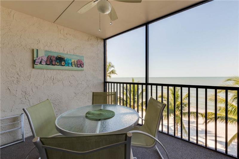 Seaside 303, 2 Bedrooms, Gulf Front, Elevator, Heated Pool, Sleeps 6 - Image 1 - Fort Myers Beach - rentals