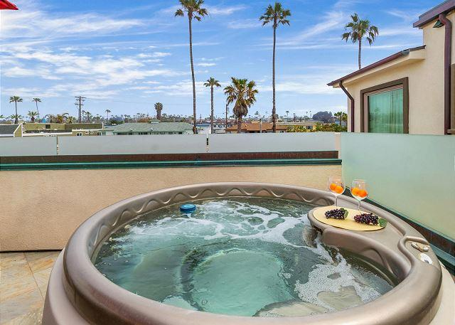 Stunning 11br/11ba on the Ocean! Rooftop/Spas/BBQ A/C Equipped - Image 1 - Oceanside - rentals
