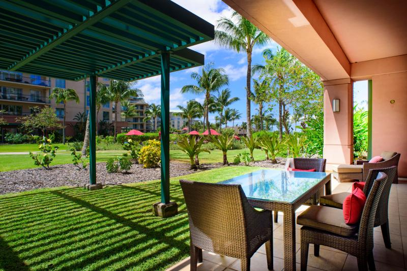 Welcome home to Konea 149! - Maui Resort Realty: Honua Kai Konea 149 – Deluxe 3BR Ground Floor Interior Courtyard - Lahaina - rentals