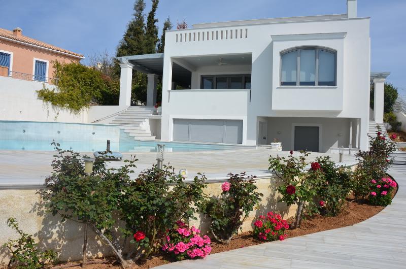 Porto Heli  - Gv - The Cristallo Villa with pool and seaviews in  ultra modern style - Image 1 - Kosta - rentals