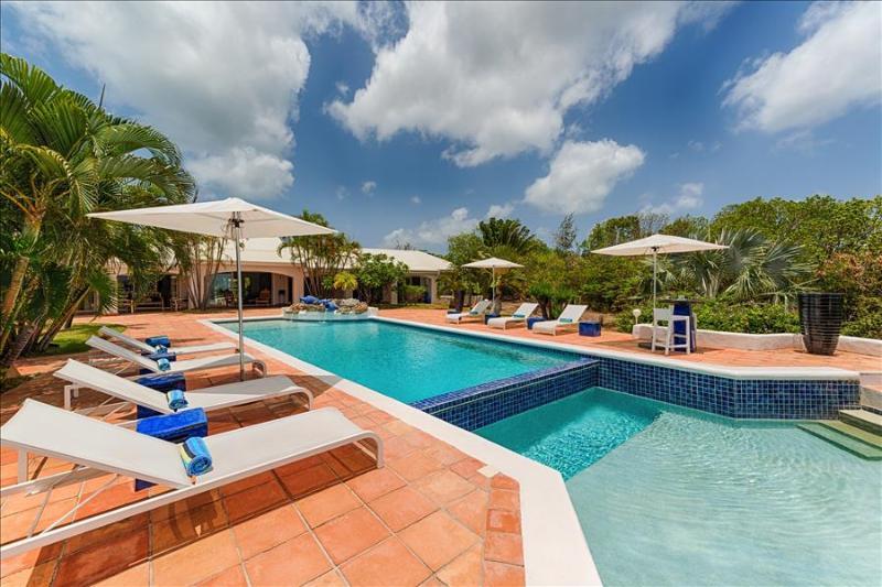 Heated Pool and a Beautiful Ocean View Villa - Image 1 - Sint Maarten - rentals