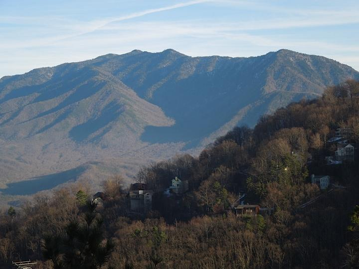 View off the deck of BearCub - Spectacular Cabin - Mountain Views - Gatlinburg - rentals