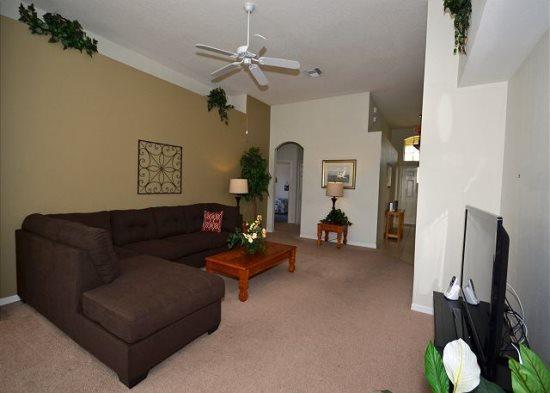 Modern 4 Bedroom 3 Bathroom Villa with 2 Masters. 443TC - Image 1 - Orlando - rentals