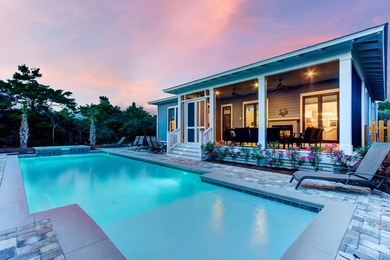 Pool and Porch - GULF DREAMS - Santa Rosa Beach - rentals