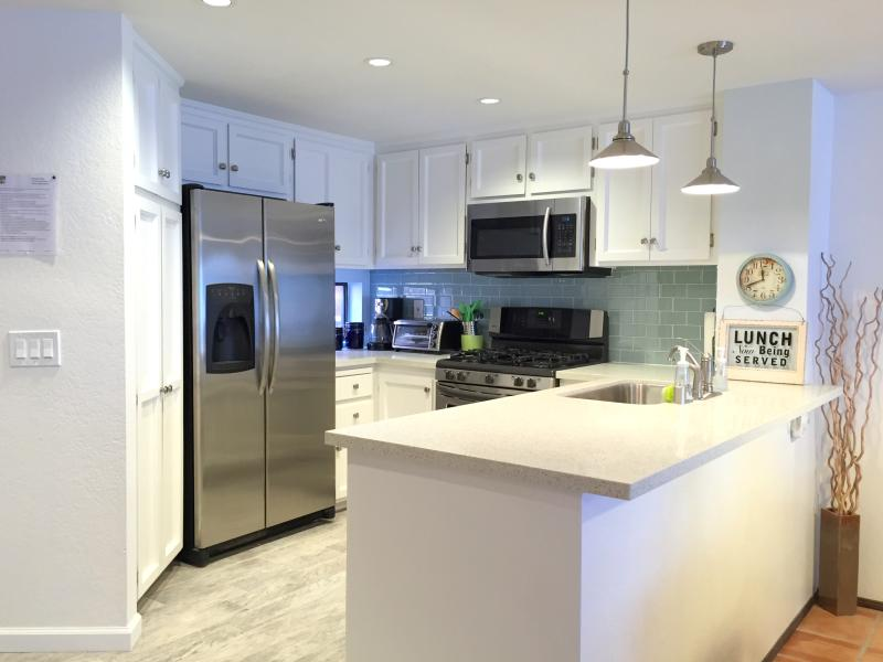 Newly Remodeled Kitchen - DRIFTWOOD VILLA - Steps to the Beach Gorgeous Remo - Imperial Beach - rentals
