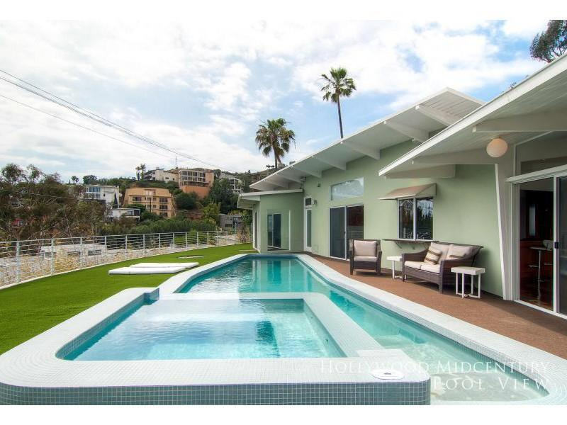 Hollywood MidCentury PoolView - Image 1 - World - rentals