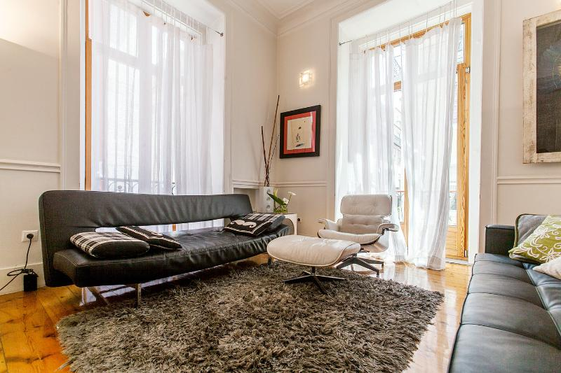 Living Room - Diva1 -Beautiful apartment in the center of Lisbon - Lisbon - rentals