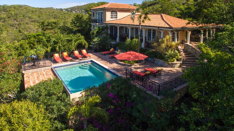 Villa South Palm 4 bedroom 4.5 bath - Image 1 - Virgin Islands National Park - rentals
