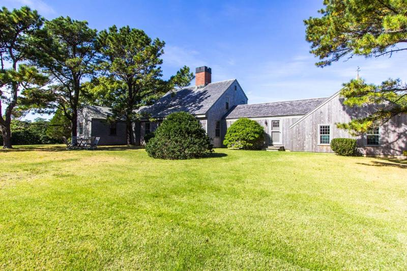 Gorgeous Royal Barry Wills Design, Front of House - RUNYW - Waterview Upper Makonikey Home,  Distinctive Design by Royal Barry Wills, Two Private Association Beaches, Central A/C - Vineyard Haven - rentals