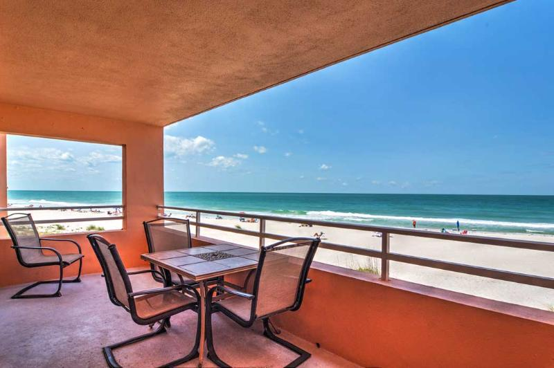 View from the balcony - Coquina Beach Club 103 - Bradenton Beach - rentals