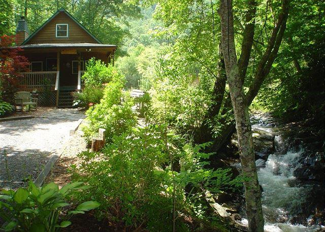 Cabin On Babbling Creek with Hot Tub, WiFi! Lower Summer Rates Available! - Image 1 - Todd - rentals