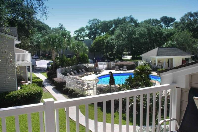 front pool - REMODELED 2016, LAKE VIEW - Saint Simons Island - rentals