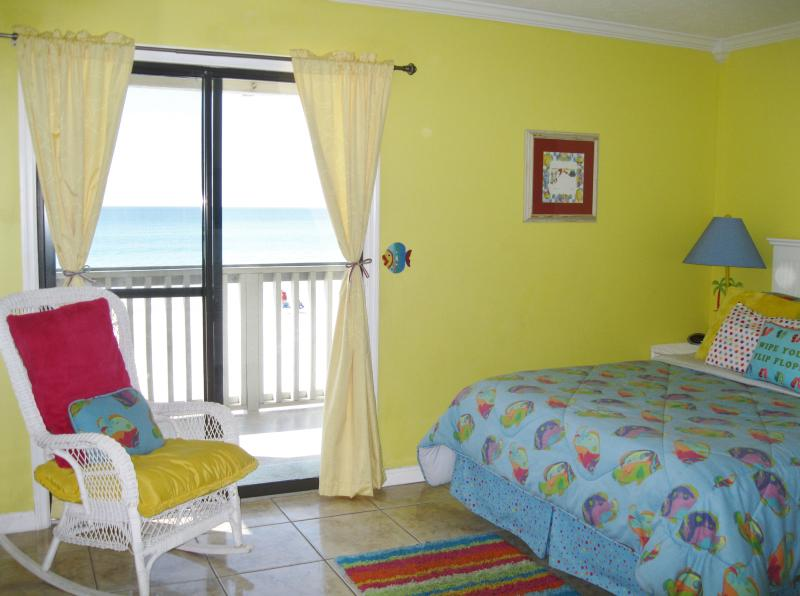 Bedroom Has Beautiful OCEANFRONT View. - OCEANFRONT BUDGET PRICED ! WE OWN 12 CONDOS ALL WITH NO 'JUNK FEES' CALL US 1ST! - Panama City Beach - rentals