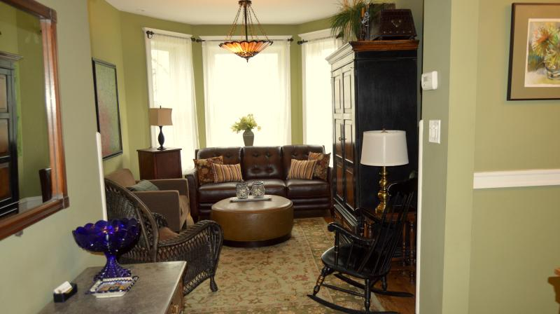 Living Room - Teri's Chicago Guest House * Addison Suite - Chicago - rentals