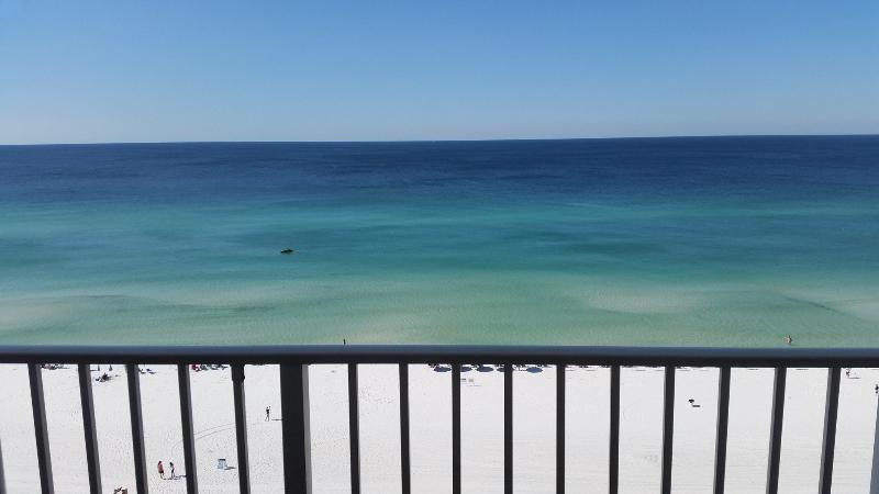 View from our double wide balcony!  You may not want to leave it! - A804*Master on Beach Side*Incredible Gulf View! - Destin - rentals