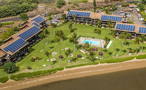 Aerial view of the complex - Molokai Shores 211 - Kaunakakai - rentals