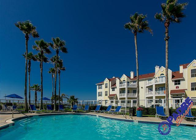 Crystal clear pool at the Beach Club - Coast Awhile is comfy one bedroom condo Close to the Beach! - Corpus Christi - rentals