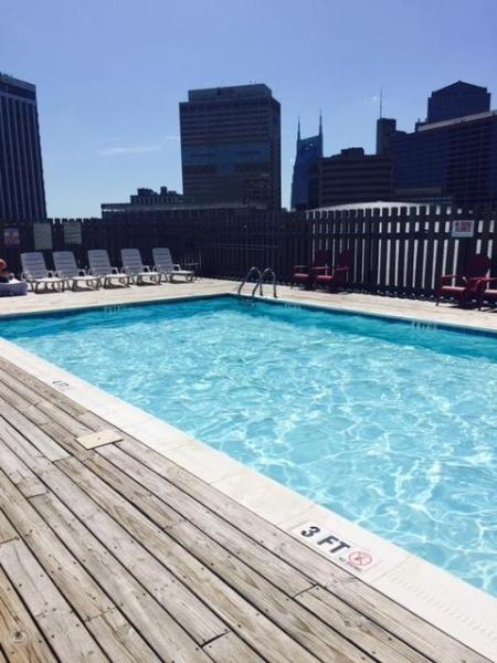Roof Top Pool Two Bedroom Condo CITY CENTER - Nashville! 2FF2CZI - Image 1 - Nashville - rentals