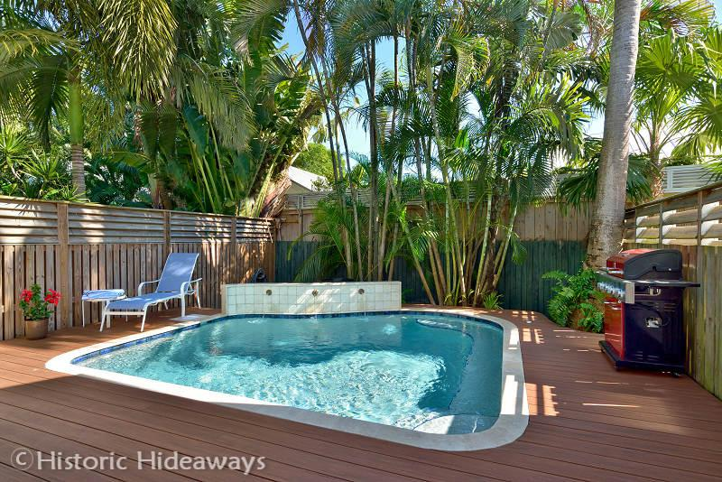 Private Pool - En Plein Air – MONTHLY Rental - Key West - rentals