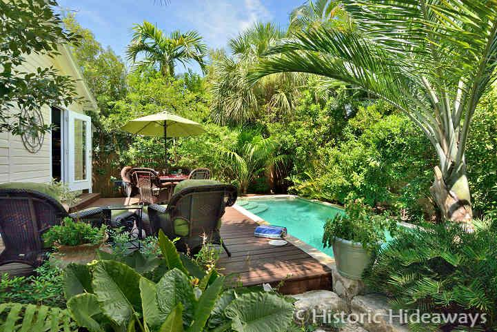 Lush Gardens Surround Home - Latitude Adjustment – MONTHLY Rental - Key West - rentals