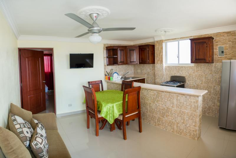 Nice One-Bedroom Apartment - One-Bedroom Apartment - Ground Floor - Sleeps 4 - Santo Domingo - rentals