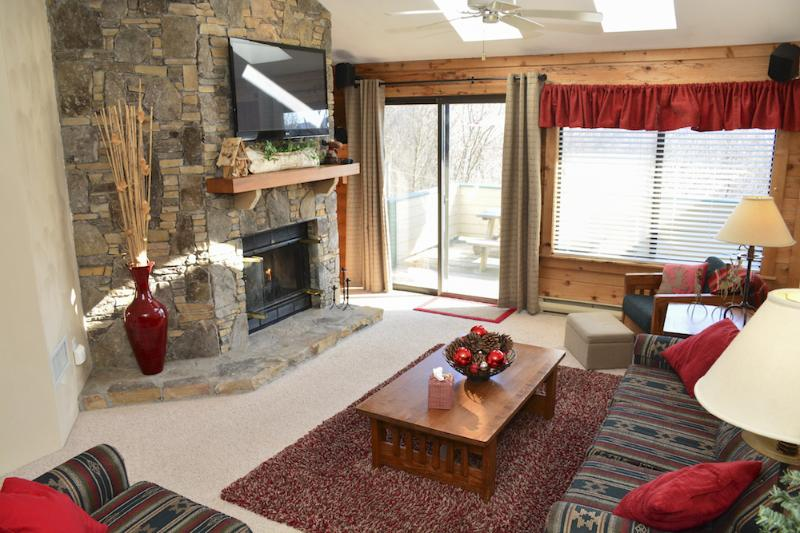 The Village Moose Ski-In Luxury Cond-Seven Springs - Image 1 - Seven Springs - rentals