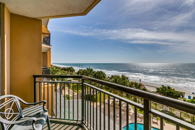 Luxury 2 Bedroom / 2 Bath Deluxe Oceanfront Suite - Image 1 - Myrtle Beach - rentals